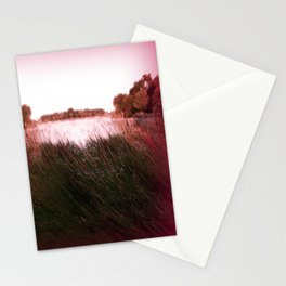 Manu Island Lake Stationery Cards