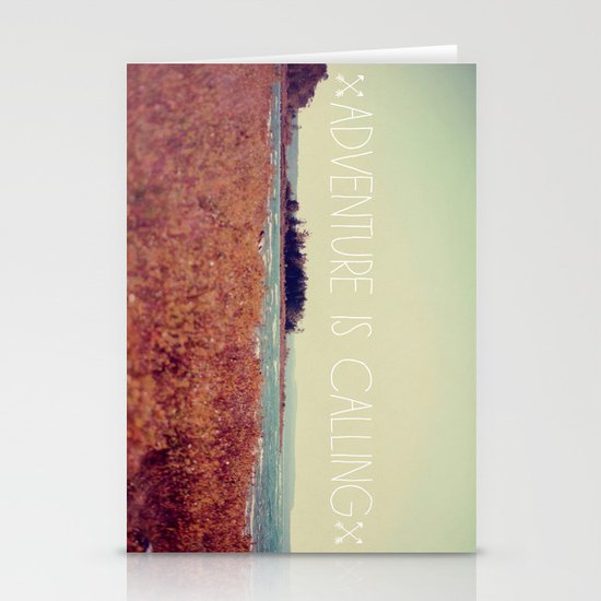 Adventure is Calling #2 Stationery Cards