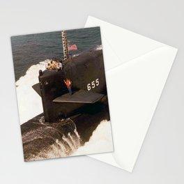 USS HENRY L. STIMSON (SSBN-655) Stationery Cards