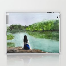 girl and nature  Laptop & iPad Skin