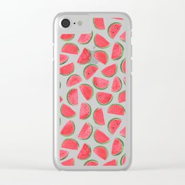 Watermelons by Rachel Whitehurst Clear iPhone Case