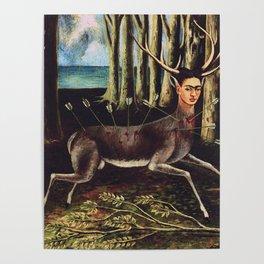 Frida Kahlo Deer Poster