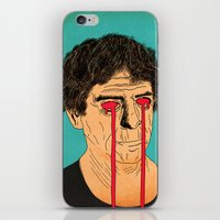 lou reed iPhone & iPod Skins featuring You, Me and Lou Reed by Roland Lefox