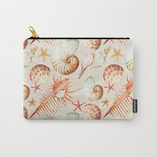 Marine Pattern 06 Carry-All Pouch