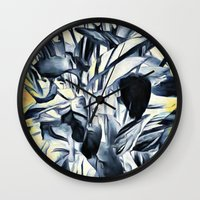 serenity Wall Clocks featuring Serenity by Geni