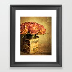 Sweet Roses Framed Art Print