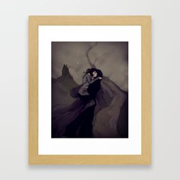 The Darkened Plain Framed Art Print
