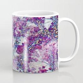 Underwater Forest (violet-blue) Coffee Mug
