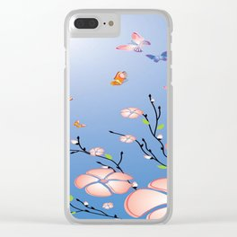 Art Flowers V16 Clear iPhone Case