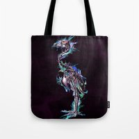 archan nair Tote Bags featuring Fade Fader Fadest by Archan Nair