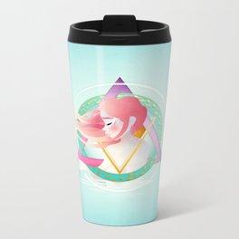 Zodiac Geometry :: Pisces Metal Travel Mug
