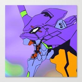Eva01 Closeup Canvas Print