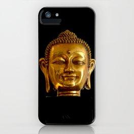 Golden Buddha by Lika Ramati iPhone Case