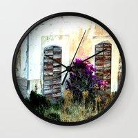 doors Wall Clocks featuring doors by  Agostino Lo Coco