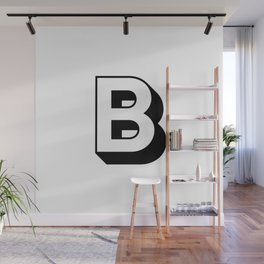 Letter B ... As Easy As ... Wall Mural