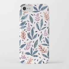 Painted Leaves iPhone 7 Slim Case