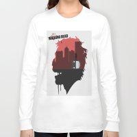 walking dead Long Sleeve T-shirts featuring Walking Dead by SirGabi