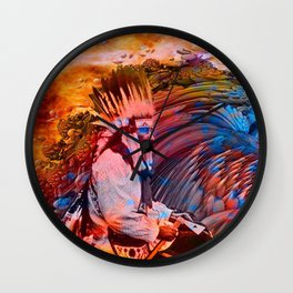 Astral Dreamtime Wall Clock