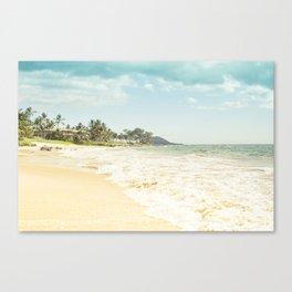 Polo Beach Maui Hawaii Canvas Print