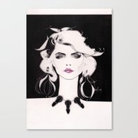 blondie Canvas Prints featuring Blondie by Christopher Morris