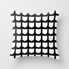 O-H-I-O Throw Pillow