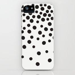 Rain of Dots iPhone Case