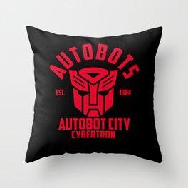 Autobots Throw Pillow