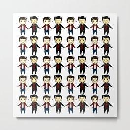 Chibi Sterek 01 Metal Print