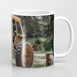 International 966 Rust Red Tractor with Cab Rusty Tractors Coffee Mug