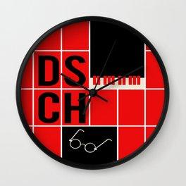 Dmitri Shostakovich - DSCH Wall Clock