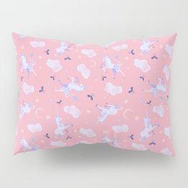 Unicorn Dreams Pink Pillow Sham