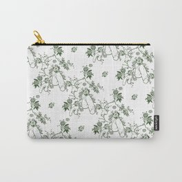 Penis Pattern GREEN Carry-All Pouch