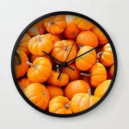 Lil' Pumpkin Wall Clock