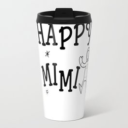 Happiness is Being a MIM (front) Travel Mug