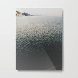 SLO waves Metal Print