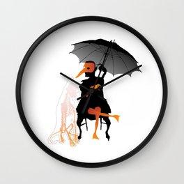 Gossip Hound Wall Clock