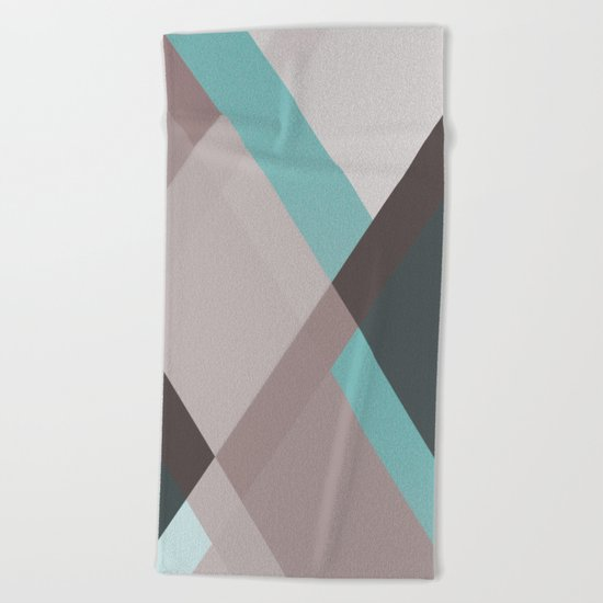 ABSTRACT 07 Beach Towel