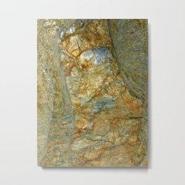 Stone Design Metal Print