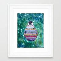 penguin Framed Art Prints featuring penguin by beart24