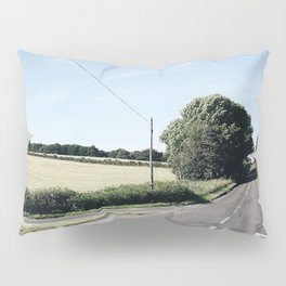 junction in the countryside Pillow Sham