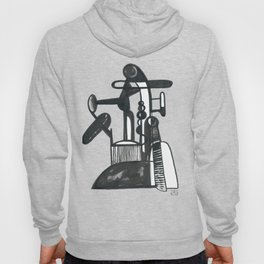 Abstractions in Black and White #6 Hoody