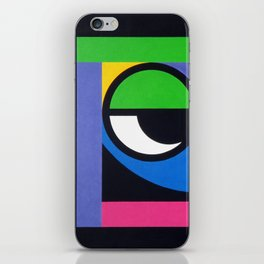 Curious Guy - Paint iPhone Skin