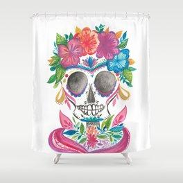 Calaverita  Shower Curtain