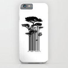 Barcode Trees illustration  Slim Case iPhone 6s