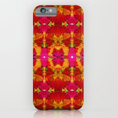 Like flowers and butterflies iPhone 6s Slim Case