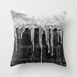 'Icicles'  Throw Pillow