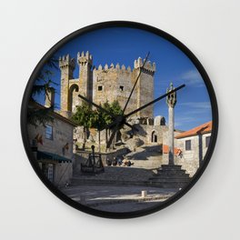 Penedono castle, Portugal Wall Clock