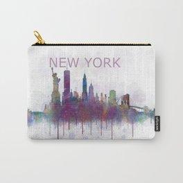 NY New York City Skyline v5 Carry-All Pouch