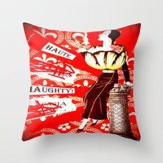 Haute Lady Throw Pillow
