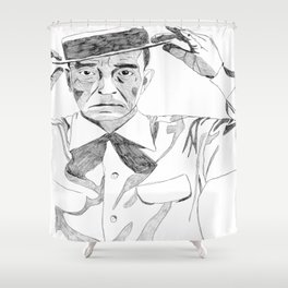 Damfino Shower Curtain